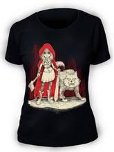Был поставлен Красная Шапочка <b>футболка Женская Ladies</b> ...