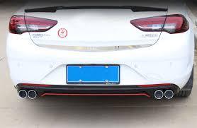 <b>Lsrtw2017 Abs Car</b> Tail Lip Rear Spoiler Strip Trims for Buick Rega ...