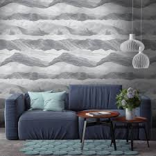 zones bedroom wallpaper: mountains and clouds wallpaper by woodchip and magnolia