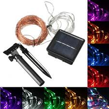 15m <b>150 led solar powered</b> copper wire string fairy light christmas ...