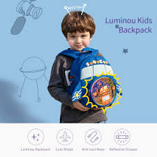 Sunveno 2020 Robot Plush Children <b>Backpacks</b> kindergarten ...