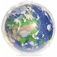 <b>Мяч надувной</b> Bestway Земля с подсветкой 31045 BW, 61 см в ...