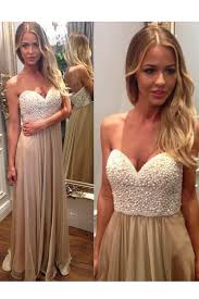<b>Sexy Sweetheart</b> Beading Backless Long Chiffon <b>Champagne</b> Prom ...