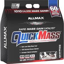 ALLMAX Nutrition <b>QuickMass Rapid Mass Gain</b> 12 lbs PICK FLAVOR