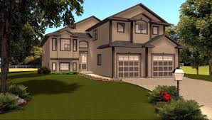 Modified Bi Level House Plans by Edesignsplans ca