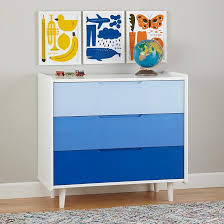 view in gallery blue ombre dresser the latest in kids furniture textiles and decor blue kids furniture