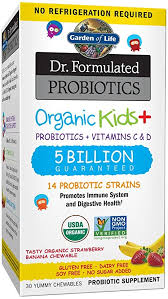 Garden of Life - <b>Organic</b> Kids + <b>Dr</b>. <b>Formulated Probiotics</b> with ...