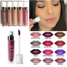 Dose of Colors Matte Liquid Lipsticks 12Color with Retail ... - Vova