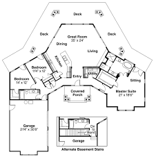 Octagon House Plans at COOLhouseplans comORDER this house plan  Click on Picture for Complete Info