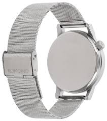 Купить Наручные <b>часы KOMONO Winston</b> Royale Silver по низкой ...