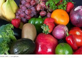 u s gao food safety fda s efforts to evaluate and respond to photo showing a variety of fruits and vegetables