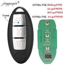 <b>jingyuqin Smart Remote</b> Key 3 Buttons for NISSAN Qashqai X Trail ...
