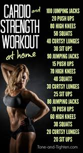 tone and tighten real fitness for real people cardio and strength training workout at home
