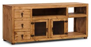 "Santa Fe Rusticos 63"" <b>Solid</b> Pine <b>TV Stand</b> 
