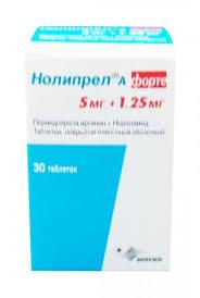 <b>Нолипрел А Форте</b> таблетки <b>5</b>/1.25мг №30 цена от 536 руб. в ...