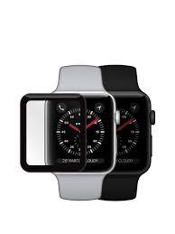 <b>Защитное стекло Mobius для</b> смарт-часов Apple Watch 3 3D Full ...