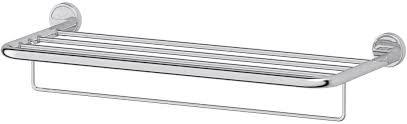 <b>Полка для полотенец</b> со штангой 70 cm (хром) (<b>FBS</b>) LUX 043