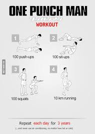 GAGBAY - One Punch Man Workout via Relatably.com