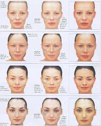 how to correct face shape with makeup my biggest pet ve is all of the contour middot contouring for diffe