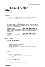 associate system engineer resume samples system engineer resume sample