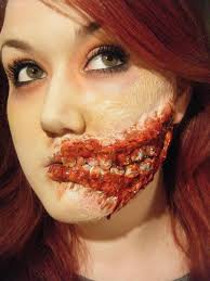 zombie makeup from one of my favorites thought i 39 d put in