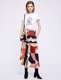 LW <b>x ART</b>.365 <b>T</b>-<b>shirt</b>, <b>optical</b> white - Marella
