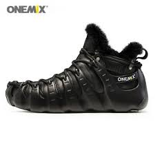 <b>ONEMIX Men's</b> Premium Leather <b>Boots</b> Wool <b>Shoes Women</b> ...