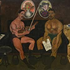 <b>Автопортрет</b> и портрет Петра Кончаловского. Машков И.И ...