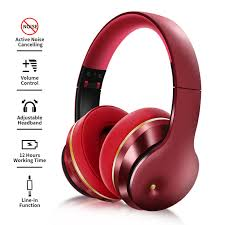 <b>EL528</b> Wireless <b>Bluetooth Headphone</b> Active Noise Abatement <b>ANC</b> ...