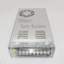 360W 36V 10A <b>Triple Output Switching power</b> supply for Led Strip ...