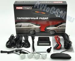 Парковочный радар (<b>парктроник</b>) <b>ParkMaster 40</b>-<b>FJ</b>-<b>4 White</b> - <b>4</b> ...