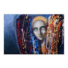 "Холст 50x75 ""Сон птицы."" #1651625 от Anna Frank - <b>Printio</b>"