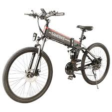 <b>Samebike LO26 Smart</b> Folding Electric <b>Moped Bike</b> Black
