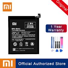 Xiao Mi 100% <b>Original</b> BN43 Battery For <b>Xiaomi Redmi</b> Note 4X ...
