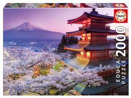 <b>Пазл Educa</b> Гора Фудзи Япония (16775), <b>2000</b> дет. — купить по ...