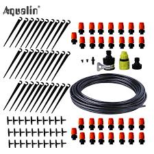 25m <b>Automatic</b> Micro Drip <b>Irrigation System Garden Irrigation</b> Spray ...