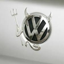 <b>VW</b> Devil Sticker Decal <b>Volkswagen</b> 3D Angel Emblem <b>Car Styling</b> ...