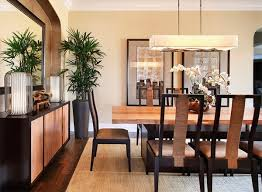 a dining room that features a beautiful modern lines with a clean asian luxuries brought by the natural beauty of organic decoration inside asian style dining room furniture