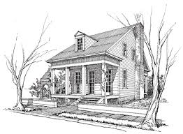 Beautiful Creole House Plans   Louisiana Creole Cottage House        Inspiring Creole House Plans   Creole Cottage House Plans
