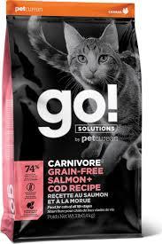 Корм <b>сухой Go</b>! <b>Natural Holistic</b> Carnivore, с лососем и треской ...