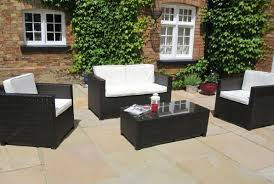 patio couch set black rattan garden furniture wicker patio furniture
