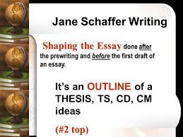jane schaffer essayessay paper