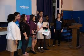 optimum community   events   hempstead  ny   april           barack obama elementary school th grader danna morgan was announced as a runner up in