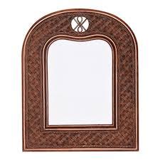<b>Зеркало Andrea</b> 80 х 66 вертикальное, <b>Pecan</b> Washed (античн ...
