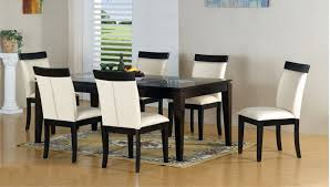 black and white dining table set: gallery for modern dining table chairs designs