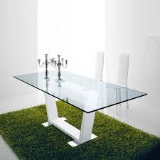 bicolour modern design dining chair modern rectangular glossy dining table dori by compar