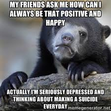 my friends ask me how can i always be that positive and happy ... via Relatably.com