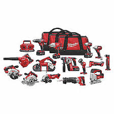 MILWAUKEE COMBO <b>KIT</b> M18 <b>15PC</b> CORDLESS - Cordless ...
