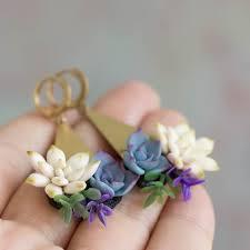 One more unique earrings | Флористика, <b>Украшения</b>, Серьги