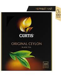 """<b>Чай Curtis</b> """"<b>Original</b> Ceylon <b>Tea</b>"""" черный мелкий лист 100 сашет ..."""